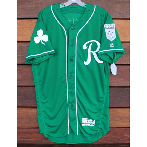 Team-Issued St. Patrick's Day Jersey: Drew Storen (Size - 44)