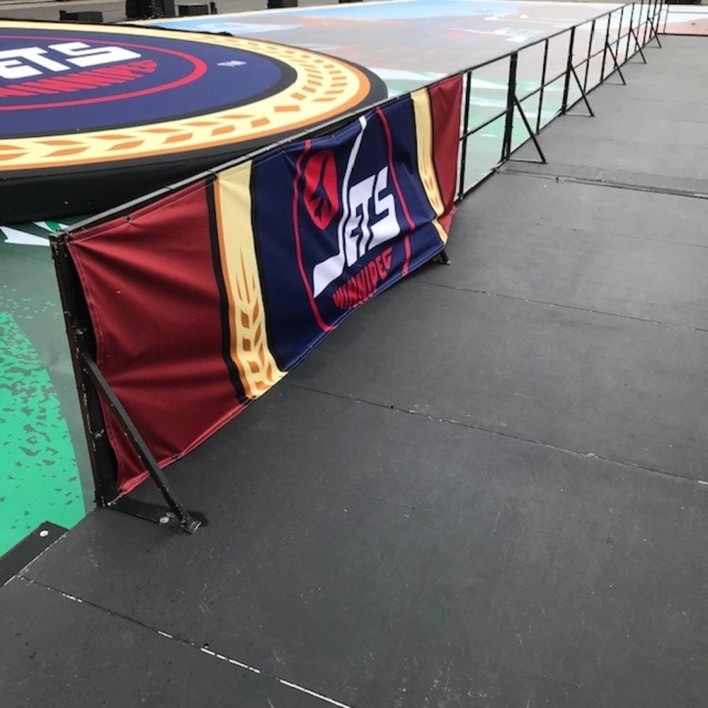 2019 NHL Heritage Classic On-field Banner - Winnipeg Jets