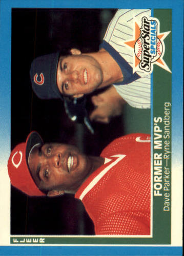 Photo of 1987 Fleer #639 Dave Parker/Ryne Sandberg