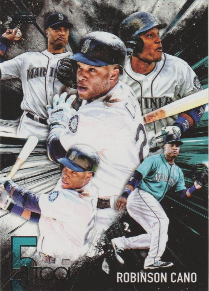 2017 Topps Five Tool #5T21 Robinson Cano