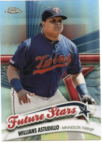 Photo of 2020 Topps Chrome Future Stars #FS17 Willians Astudillo