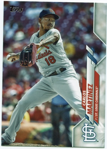Photo of 2020 Topps #508 Carlos Martinez
