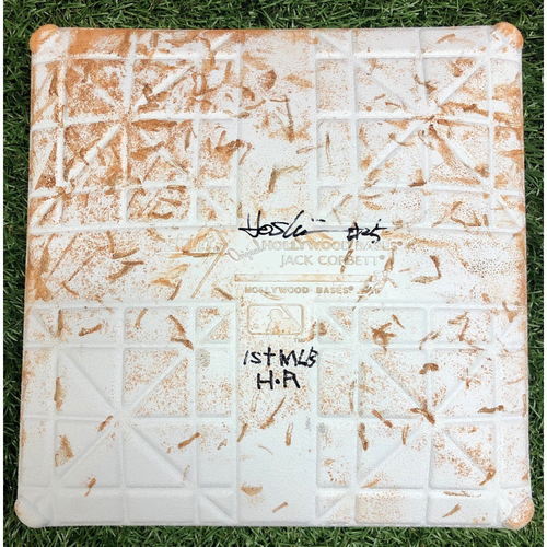 Photo of Rays Baseball Foundation: Game Used Autographed Third Base (Innings 4-6) - Opening Day - July 24, 2020 v TOR
