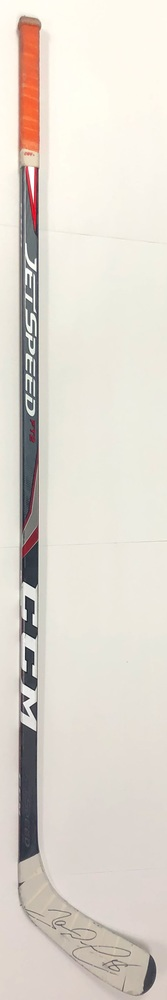 #18 James Neal Game Used Stick - Autographed - Edmonton Oilers