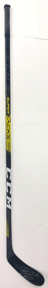 #82 Connor Bunnaman Game Used Stick - Autographed - Philadelphia Flyers