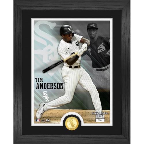 Photo of Serial #1! Chicago White Sox Tim Anderson Bronze Coin Photo Mint