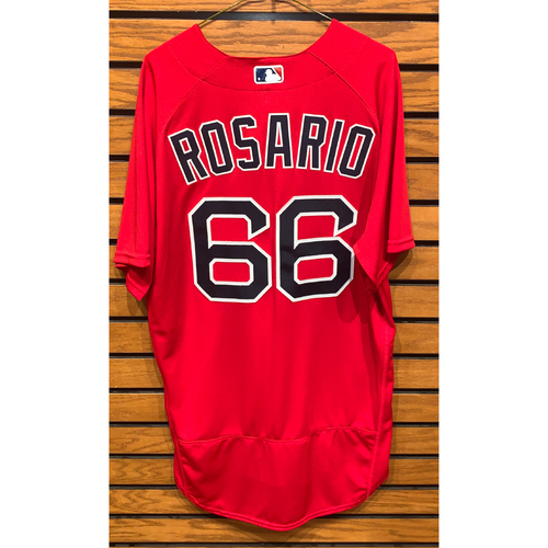Photo of Jeisson Rosario Team Issued 2021 Spring Training Jersey