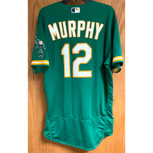 Photo of Game-Used Jersey - Sean Murphy (HR #13)
