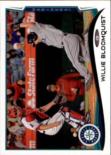 Photo of 2014 Topps Update #US49 Willie Bloomquist