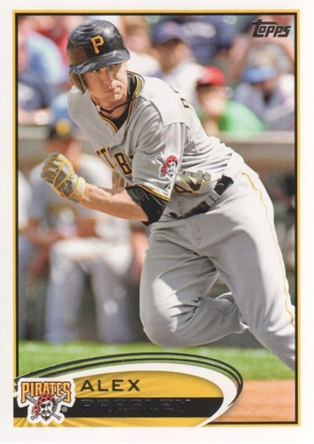 Photo of 2012 Topps #555 Alex Presley