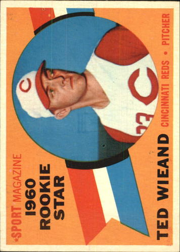 Photo of 1960 Topps #146 Ted Wieand RS RC