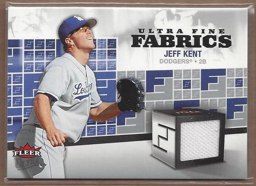 Photo of 2006 Ultra Fine Fabrics #JK Jeff Kent Jsy