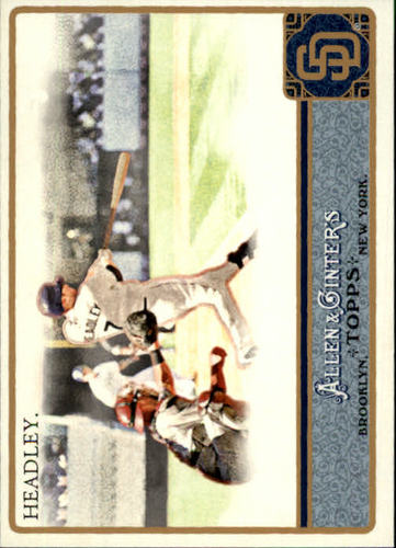 Photo of 2011 Topps Allen and Ginter #76 Chase Headley