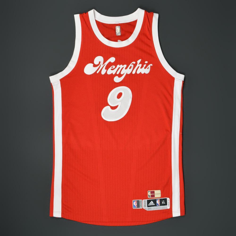 Tony Allen - Memphis Grizzlies - Game-Worn '1974-75 Memphis Sounds ...