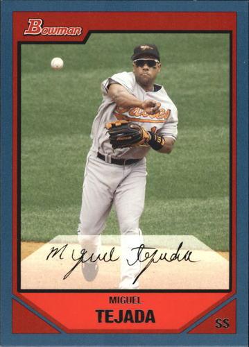 Photo of 2007 Bowman Blue #95 Miguel Tejada
