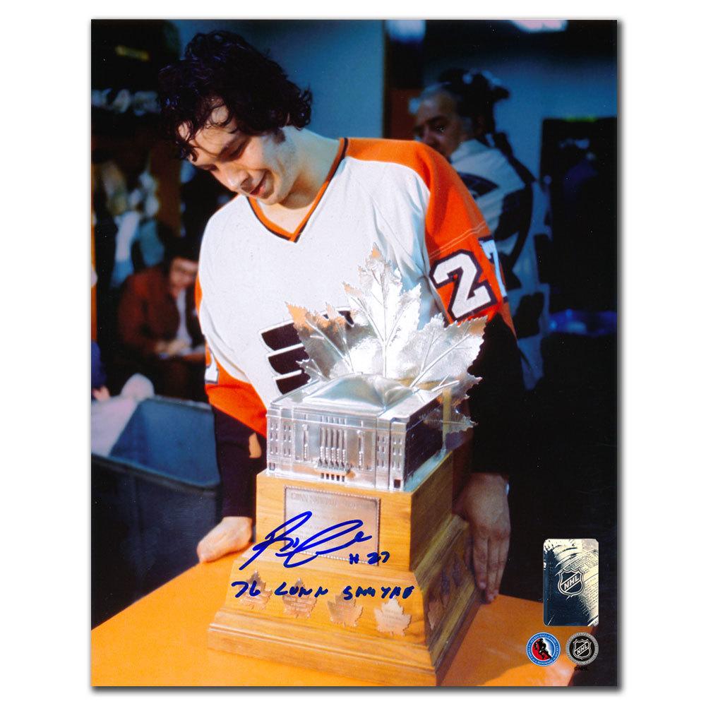 Reggie Leach Philadelphia Flyers 1976 Conn Smythe Autographed 8x10
