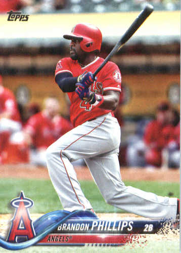 Photo of 2018 Topps #87 Brandon Phillips