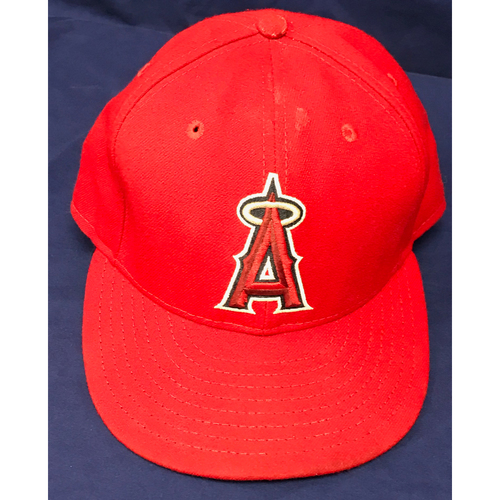 Photo of Albert Pujols 2015 Team-Issued Cap