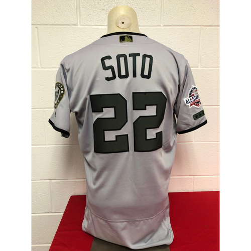 Photo of Game-Used 2018 Jersey - Juan Soto