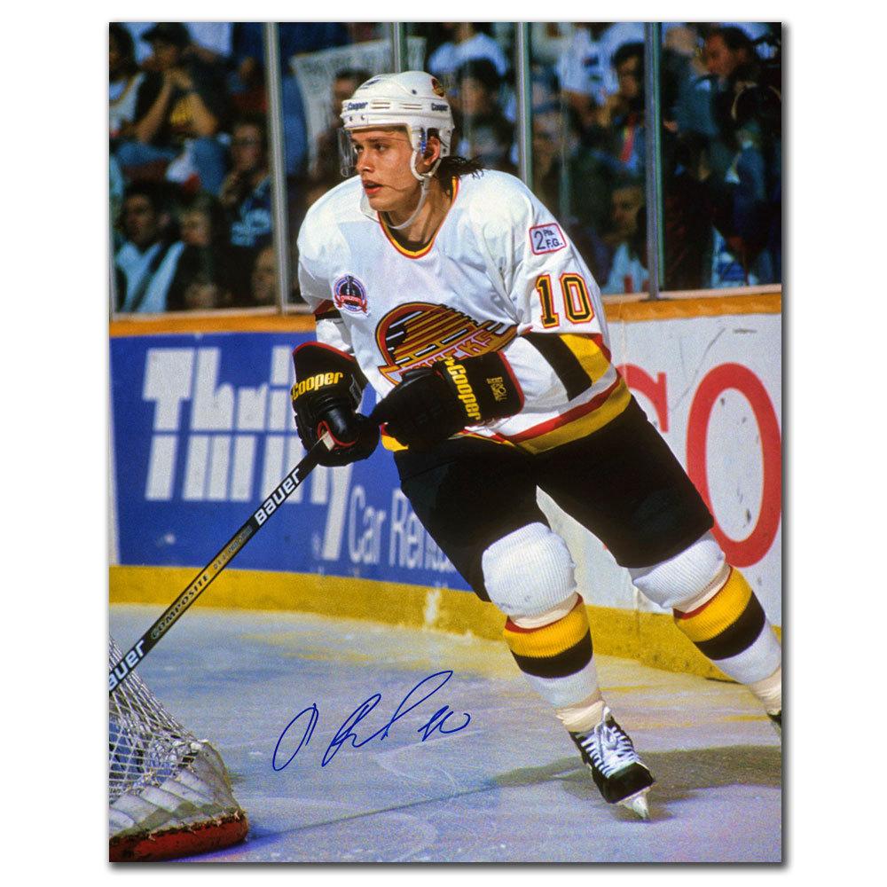 Pavel Bure Vancouver Canucks RUSH Autographed 16x20