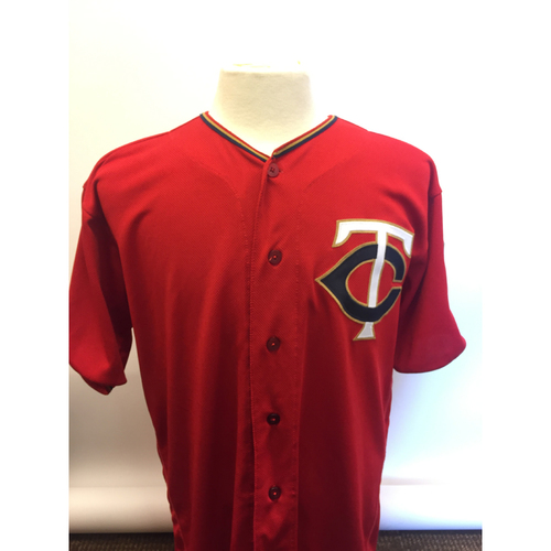 Photo of Minnesota Twins - 2019 Game Used Jersey - Eddie Rosario hit Twins 99th HR of 2019