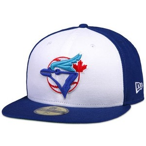 Toronto Blue Jays Cooperstown Pro Cap With White Panel by New Era