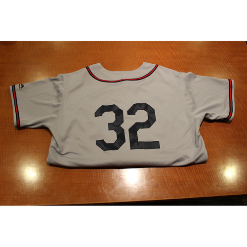 Photo of Game-Used Uniform: 6/1/19 & 6/7/19 Pittsburgh Crawford Uniform Set  - Elias Diaz