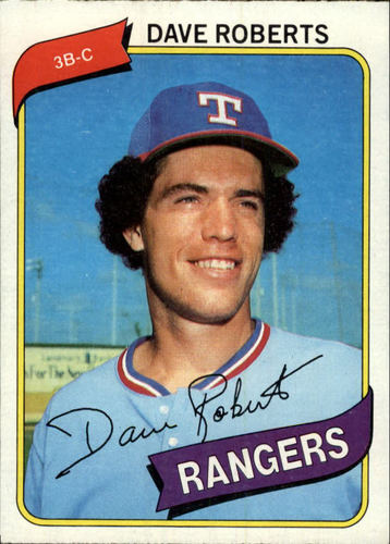 Photo of 1980 Topps #93 Dave Roberts DP