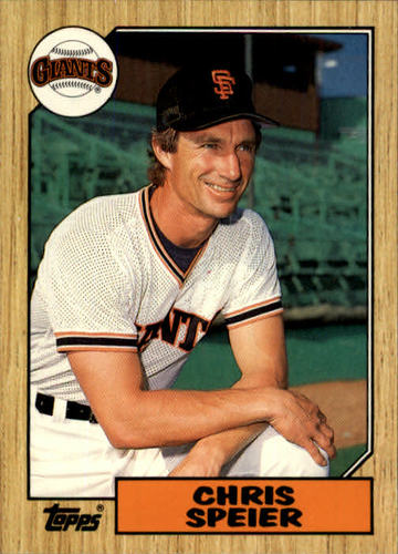 Photo of 1987 Topps Traded #115T Chris Speier
