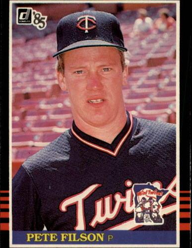 Photo of 1985 Donruss #607 Pete Filson