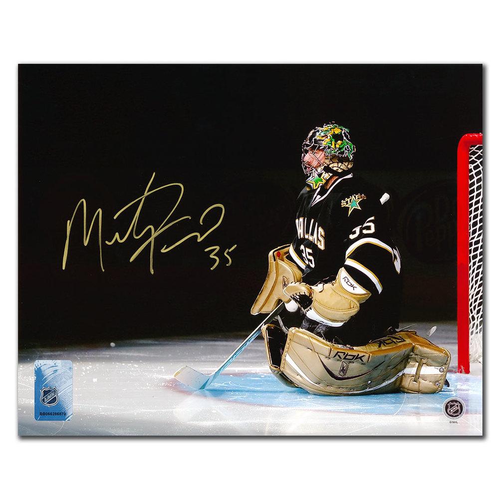Marty Turco Dallas Stars SPOTLIGHT Autographed 8x10