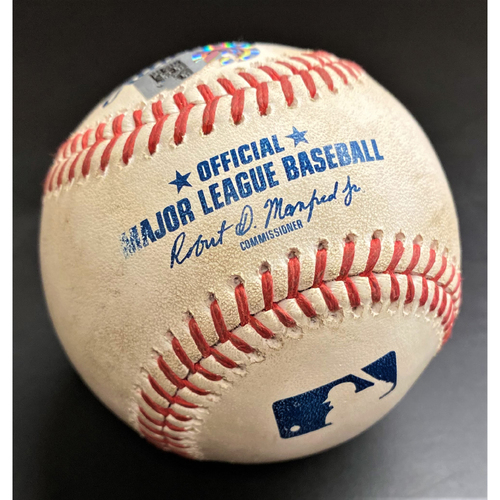 Photo of Game-Used Baseball:  Nick Castellanos Cincinnati Reds Home Run (MLB AUTHENTICATED)