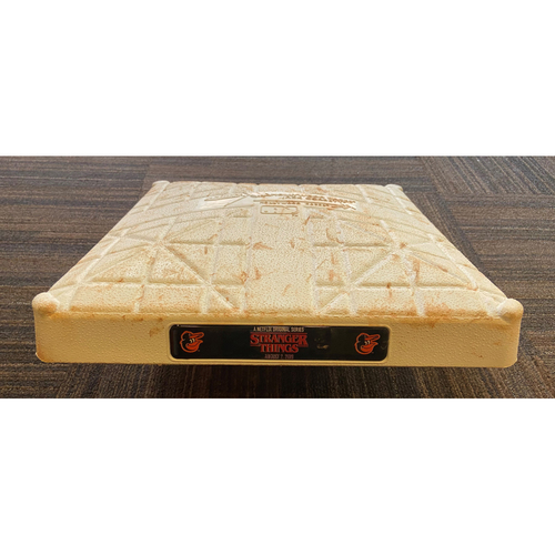 Photo of Game-Used 3rd Base - Toronto Blue Jays at Baltimore Orioles (8/2/2019) - Stranger Things