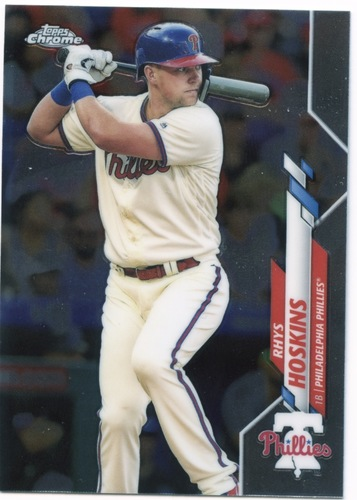 Photo of 2020 Topps Chrome #184 Rhys Hoskins