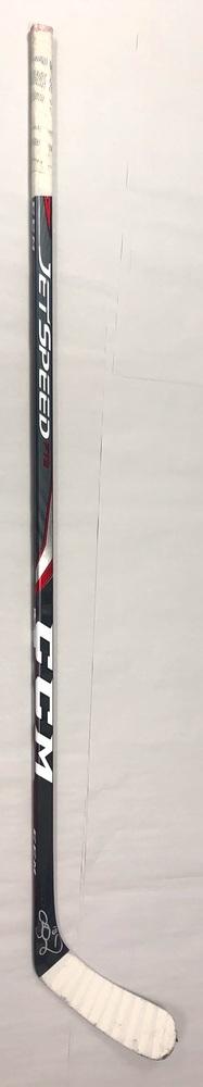 #18 Ryan Dzingel Game Used Stick - Autographed - Carolina Hurricanes