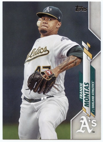 Photo of 2020 Topps #463 Frankie Montas