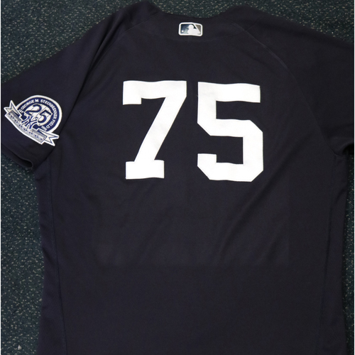 Photo of 2020 Game-Used Spring Training Jersey - David Hale #75 - Size 46