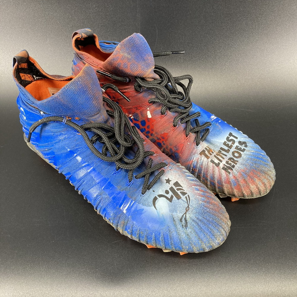 My Cause My Cleats - Browns Sione Takitaki Game Used Cleats