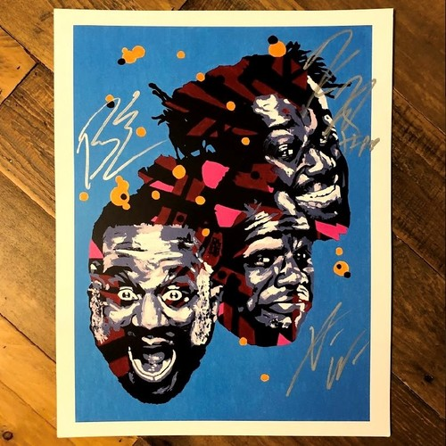 Photo of The New Day SIGNED Rob Schamberger 11 x 14 Art Print (Power of Positivity)