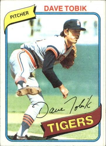 Photo of 1980 Topps #269 Dave Tobik