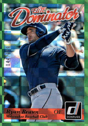 Photo of 2014 Donruss Elite Dominator #24B Ryan Braun