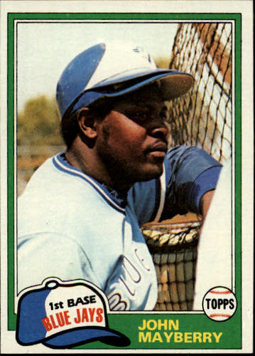 Photo of 1981 Topps #169 John Mayberry