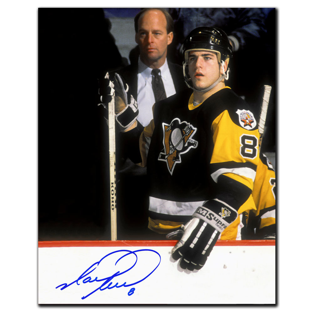 Mark Recchi Pittsburgh Penguins Rookie Autographed 8x10