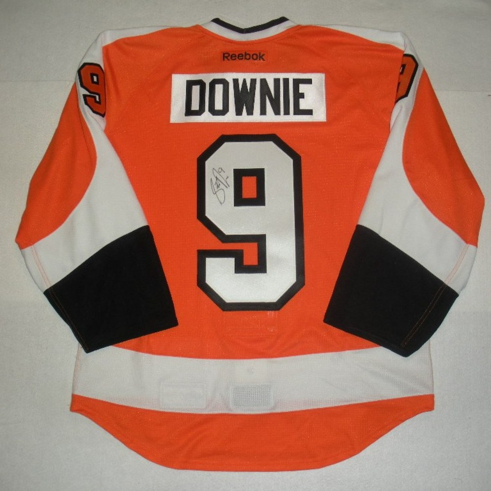 Steve Downie - 2014 Philadelphia Flyers Wives Carnival - Autographed Event-Worn Jersey