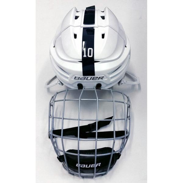 Photo of Game Used Men's Ice Hockey Helmet (White #10)