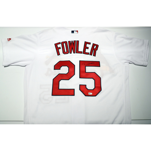 Compton Youth Academy Auction: Dexter Fowler Signed Jersey