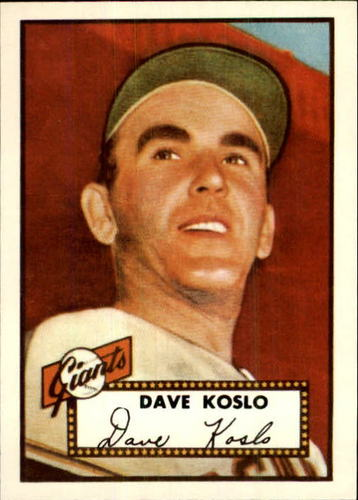 Photo of 1983 Topps 1952 Reprint #336 Dave Koslo