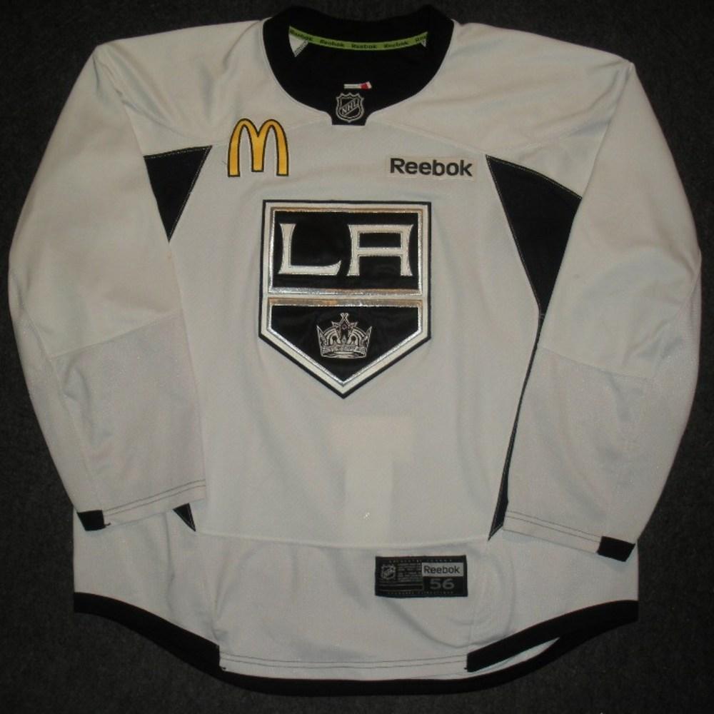 Linden Vey - 2014 Stanley Cup Final - Los Angeles Kings - Practice-Worn Jersey