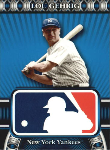 Photo of 2010 Topps Logoman HTA #28 Lou Gehrig