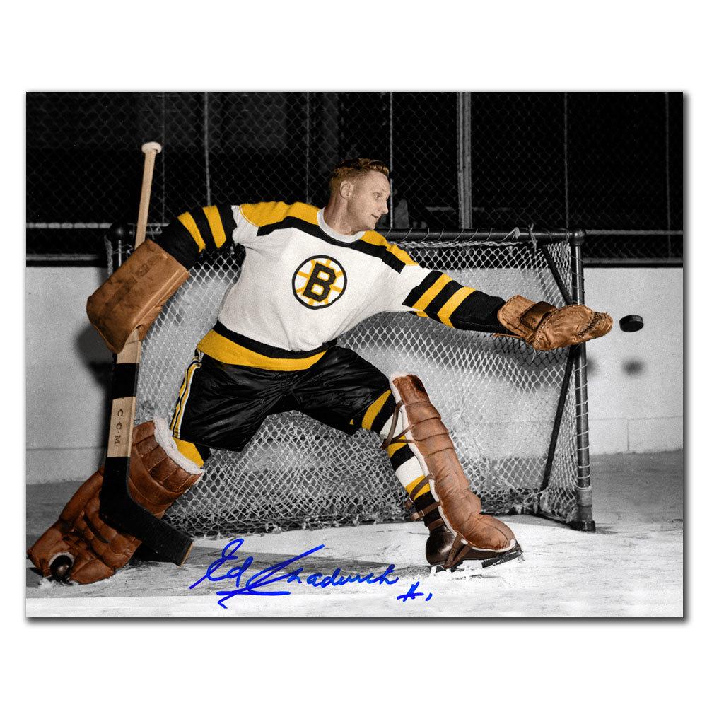 Ed Chadwick Boston Bruins Autographed 8x10
